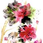 #117 CHINESE FLOWER 6