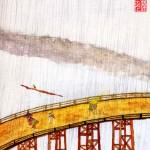 #16 CROSSING THE BRIDGE IN THE RAIN