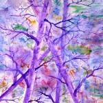 #35 PURPLE TREES